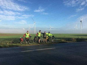 En Route - Rest at Windfarm
